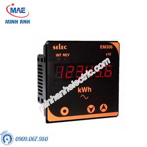 Đồng hồ đo - Model EM306 Đồng hồ tủ điện đo điện năng
