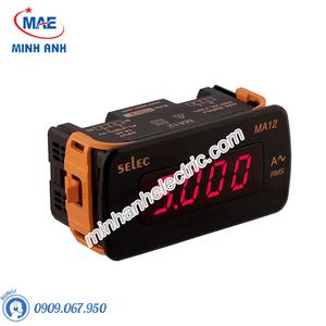 Đồng hồ đo - Model MA12 : Đồng hồ ampe hiện số 48x96