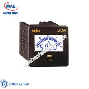 Đồng hồ đo - Model MA201 Đồng hồ đo dòng điện xoay chiều