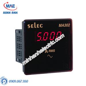 Đồng hồ đo - Model MA302 : Đồng hồ ampe hiện số 96x96