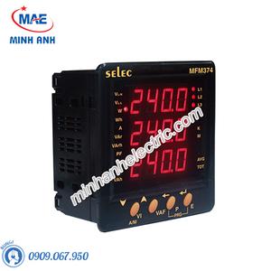 Đồng hồ đo - Model MFM374 Đồng hồ tủ điện đa năng