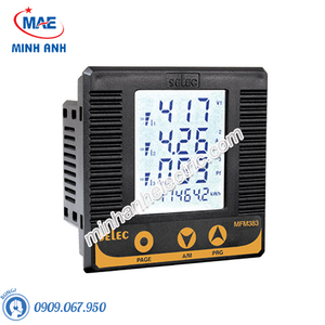 Đồng hồ đo - Model MFM383 Đồng hồ tủ điện đa năng