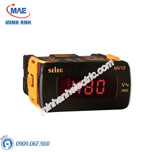 Đồng hồ đo - Model MV15 : Đồng hồ volt hiện số 48x96