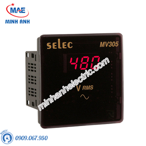 Đồng hồ đo - Model MV305 : Đồng hồ volt hiện số 96x96