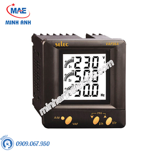 Đồng hồ đo - Model VAF36A : Đồng hồ Volt Ampe trung thế
