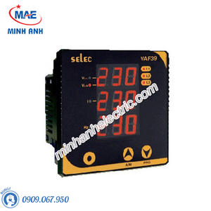Đồng hồ đo - Model VAF39 : Đồng hồ tủ điện