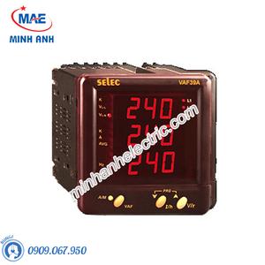 Đồng hồ đo - Model VAF39A : Đồng hồ tủ điện