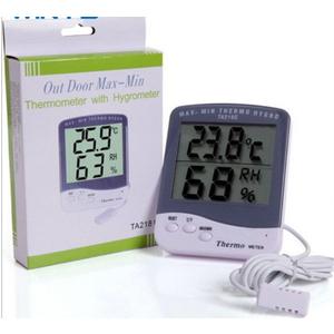Đồng hồ đo nhiệt độ độ ẩm TA218C