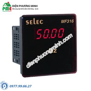 Đồng hồ đo tần số Selec - Model MF316 (96x96)