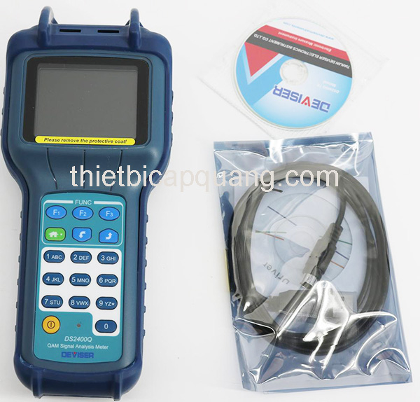 Đồng hồ đo tín hiệu truyền hình Deviser DS2400Q