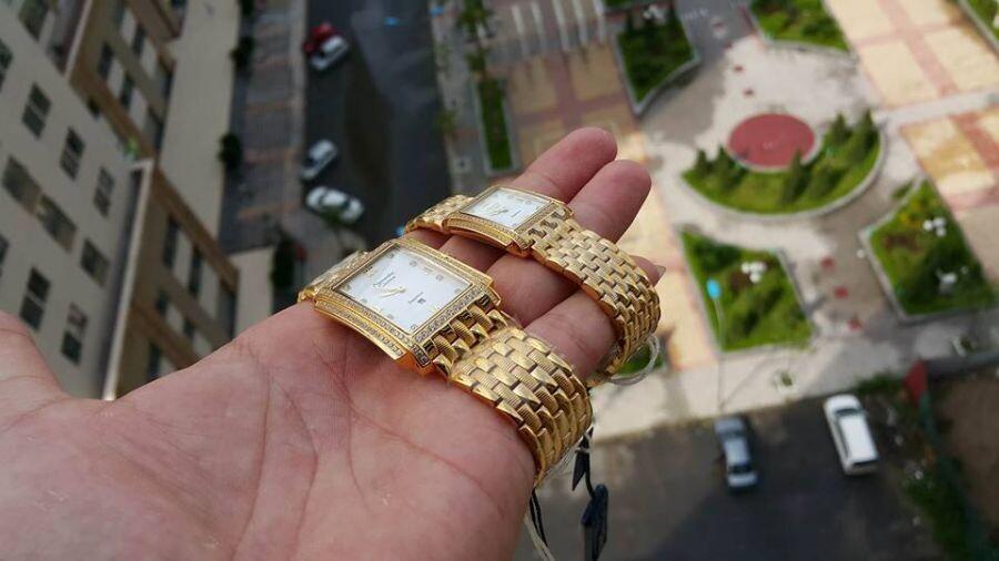 Đồng hồ đôi Alexandre Christie 8B53A-MDGPCR