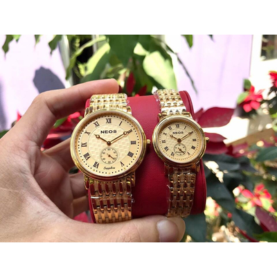 Đồng hồ đôi neos n-30851m - kv chính hãng