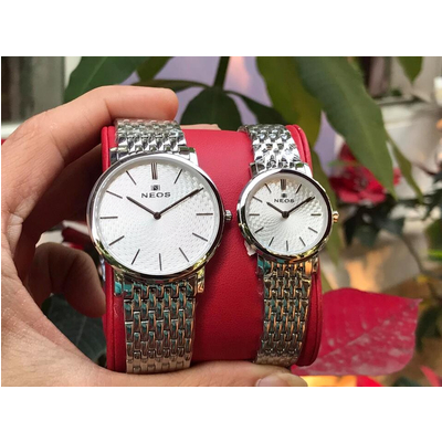 Đồng hồ đôi neos n-40577 - sst chính hãng