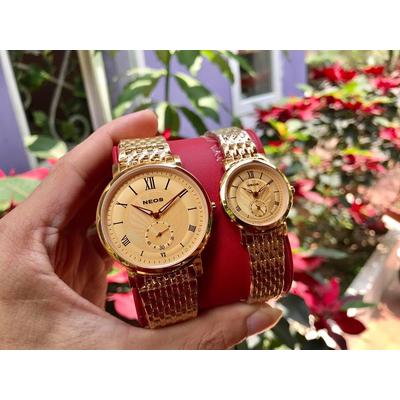 Đồng hồ đôi neos n-40675m - kv chính hãng