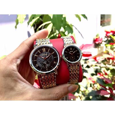 Đồng hồ đôi neos n-40675m - skd chính hãng