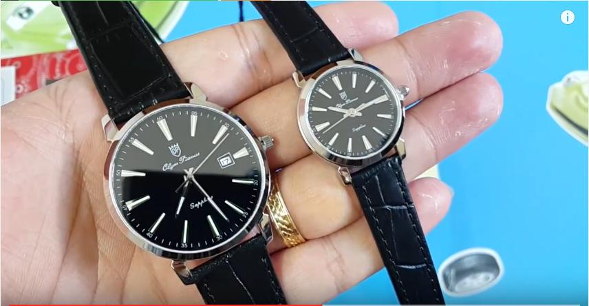 Đồng hồ đôi Olym Pianus OP130-03MS-GL-D