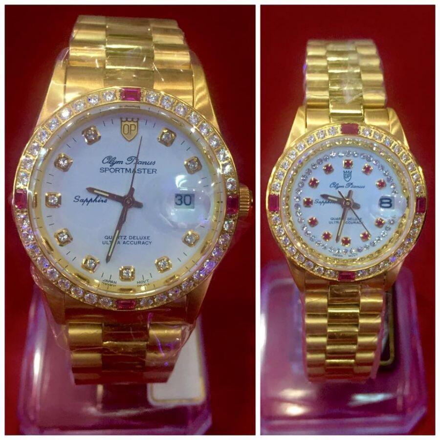 Đồng hồ đôi Olym Pianus OP89322DK-T