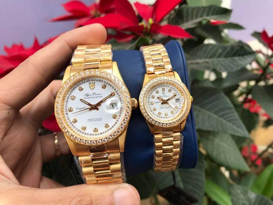 Đồng hồ đôi Olym Pianus OP89322DK-T-HT