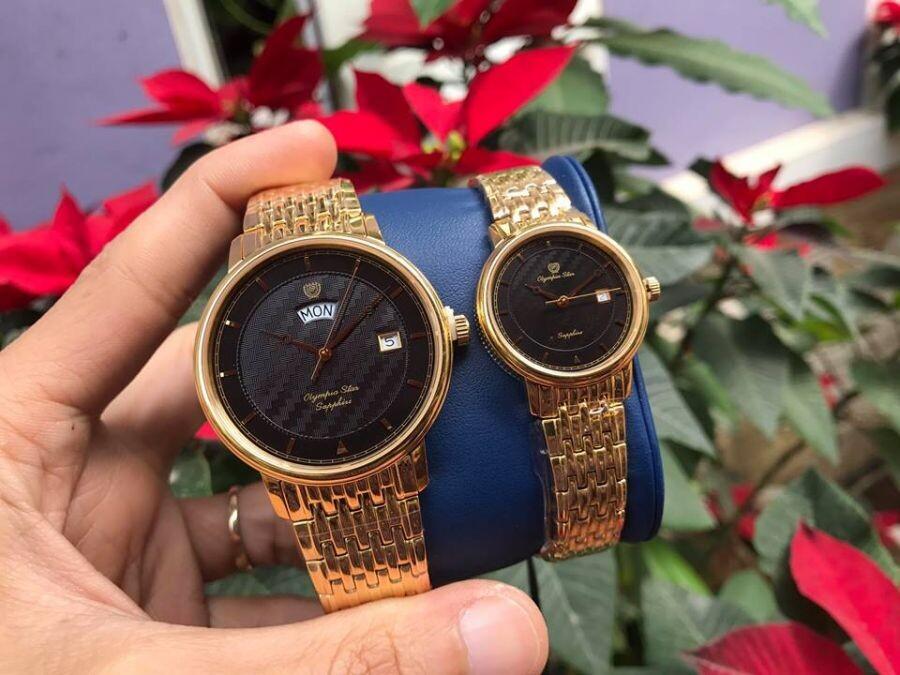 Đồng hồ đôi Olympia Star OPA58063K-D