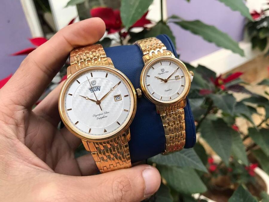 Đồng hồ đôi Olympia Star OPA58063K-T