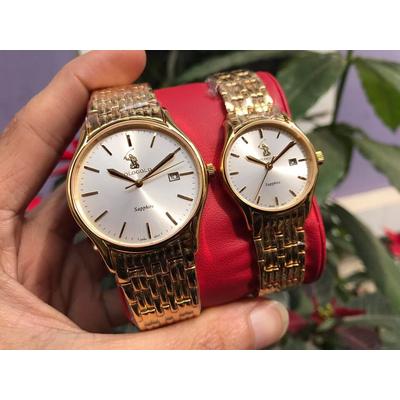 Đồng hồ đôi Polo Gold Pog2605m - kt chính hãng