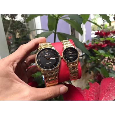 Đồng hồ đôi sunrise dm694swa - kd chính hãng