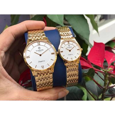 Đồng hồ đôi sunrise dm736swb - kt chính hãng