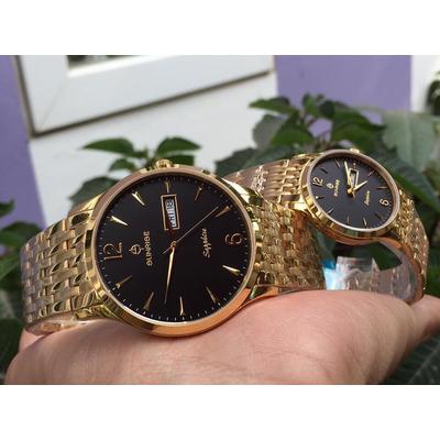 Đồng hồ đôi sunrise dm778swa - kd chính hãng
