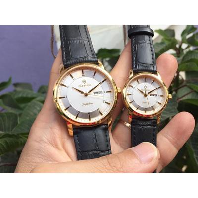 Đồng hồ đôi sunrise dm780pwa - kt chính hãng