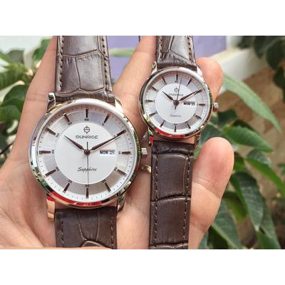 Đồng hồ đôi sunrise dm780pwa - sst chính hãng