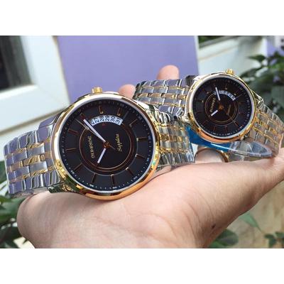 Đồng hồ đôi sunrise dm781swa - skd chính hãng