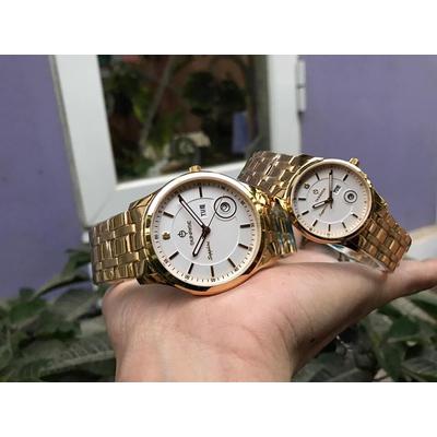 Đồng hồ đôi sunrise dm782swa - kt chính hãng
