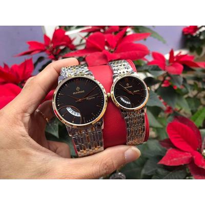 Đồng hồ đôi sunrise dm783swa - skd