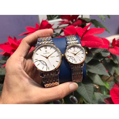 Đồng hồ đôi sunrise dm783swa - skt chính hãng