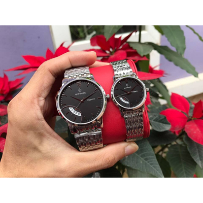 Đồng hồ đôi sunrise dm783swa - ssd chính hãng