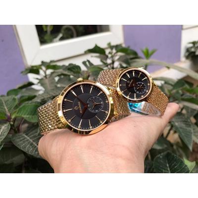 Đồng hồ đôi sunrise dm784swa - kd chính hãng