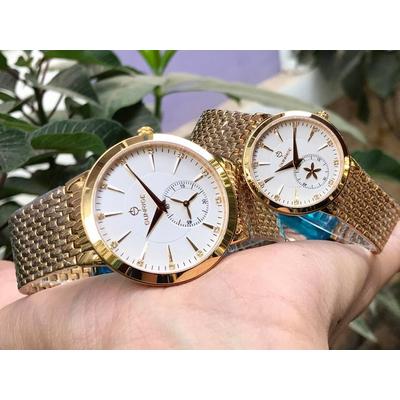 Đồng hồ đôi sunrise dm784swa - kt chính hãng