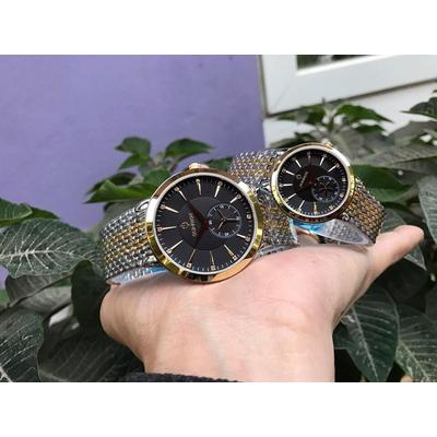 Đồng hồ đôi sunrise dm784swa - skd chính hãng