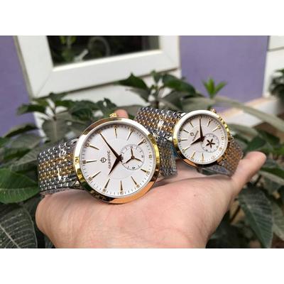 Đồng hồ đôi sunrise dm784swa - skt chính hãng