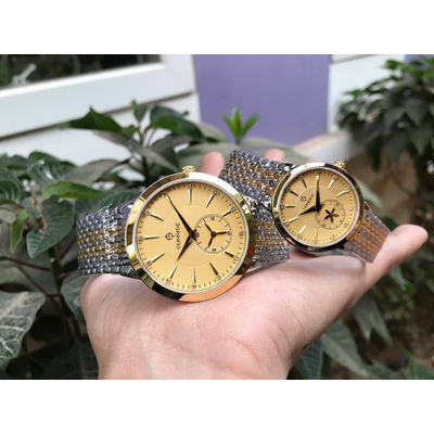 Đồng hồ đôi sunrise dm784swa - skv chính hãng