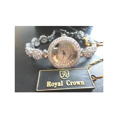 Đồng hồ lắc nữ đính đá Royal crown RC-5308j