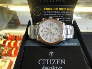 Đồng hồ nam cao cấp Citizen Eco-Drive Titanium CA0024-55A