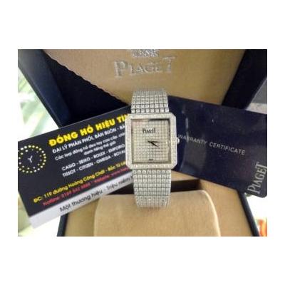 Đồng hồ nam cao cấp Piaget diamond 18K white gold G0a02701