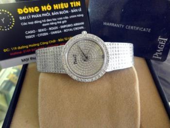 Đồng hồ nam cao cấp Piaget diamond white G0a04194
