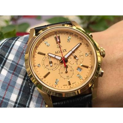 Đồng hồ nam chính hãng Aolix al 7050g - lkv