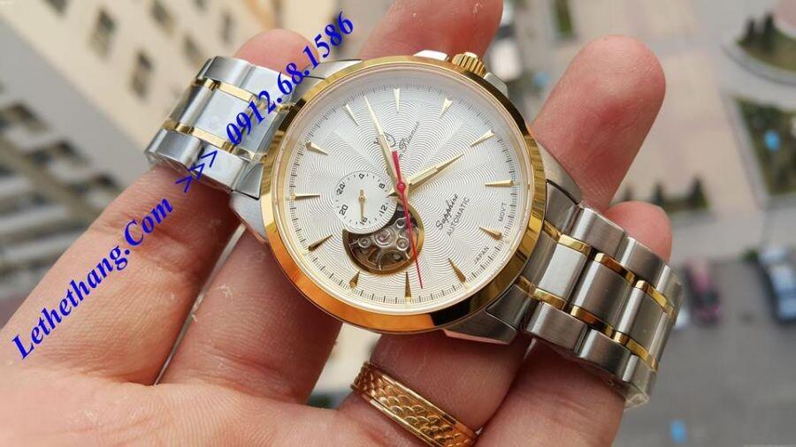 Đồng hồ nam Olym Pianus OP990-083AMSK-T