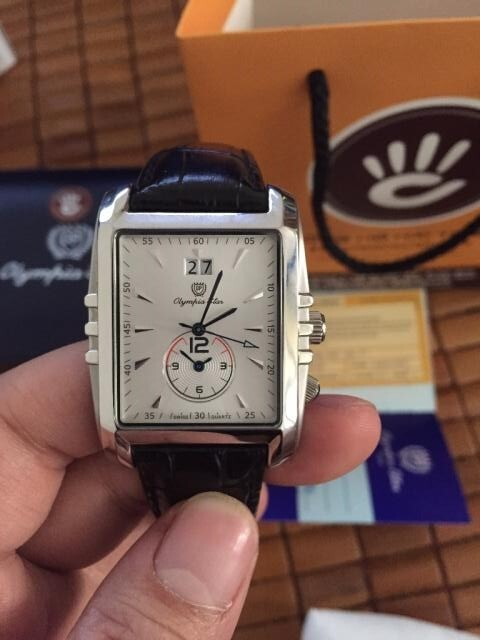 Đồng hồ nam Olympia Star OPA58031MS-GL-T