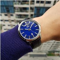 Đồng hồ nam Orient Daydate Blue FEV0U003DH