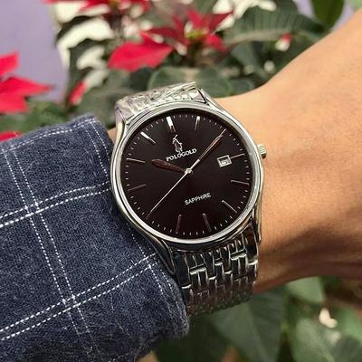 Đồng hồ nam polo gold pog2605m - ssd chính hãng