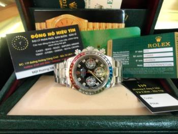 Đồng hồ nam Rolex daytona ad 1992 24 winner 18k white gold